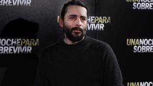 El cineasta Jaume Collet Serra, el pasado marzo en Madrid, en la presentación de 'Una noche para sobrevivir'.