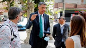 El alcalde de Badalona, Xavier García Albiol.