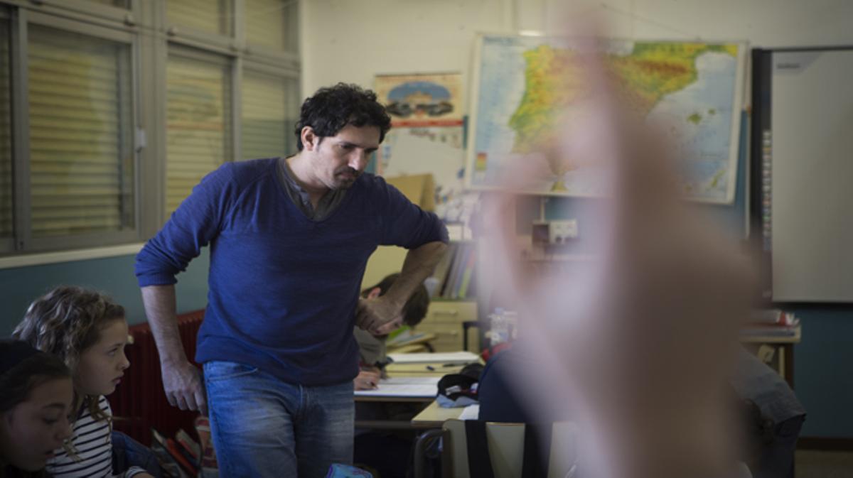 César Bona compite a mejor profesor del mundo (Teacher Global Prize).