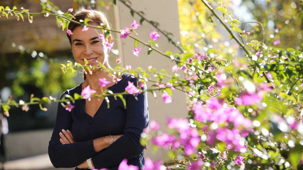 Carmen Posadas presenta su nuevo libro 'La Maestra de Títeres'.