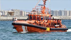 Imagen de archivo de una patrullera de Salvamento Marítimo.