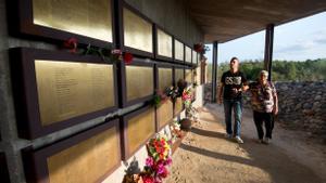 Memorial de Camposines, uno de los espacios integrados en el Comebe.