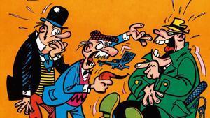 Ilustración de Raf para la historieta 'El secreto del burgomaestre'.