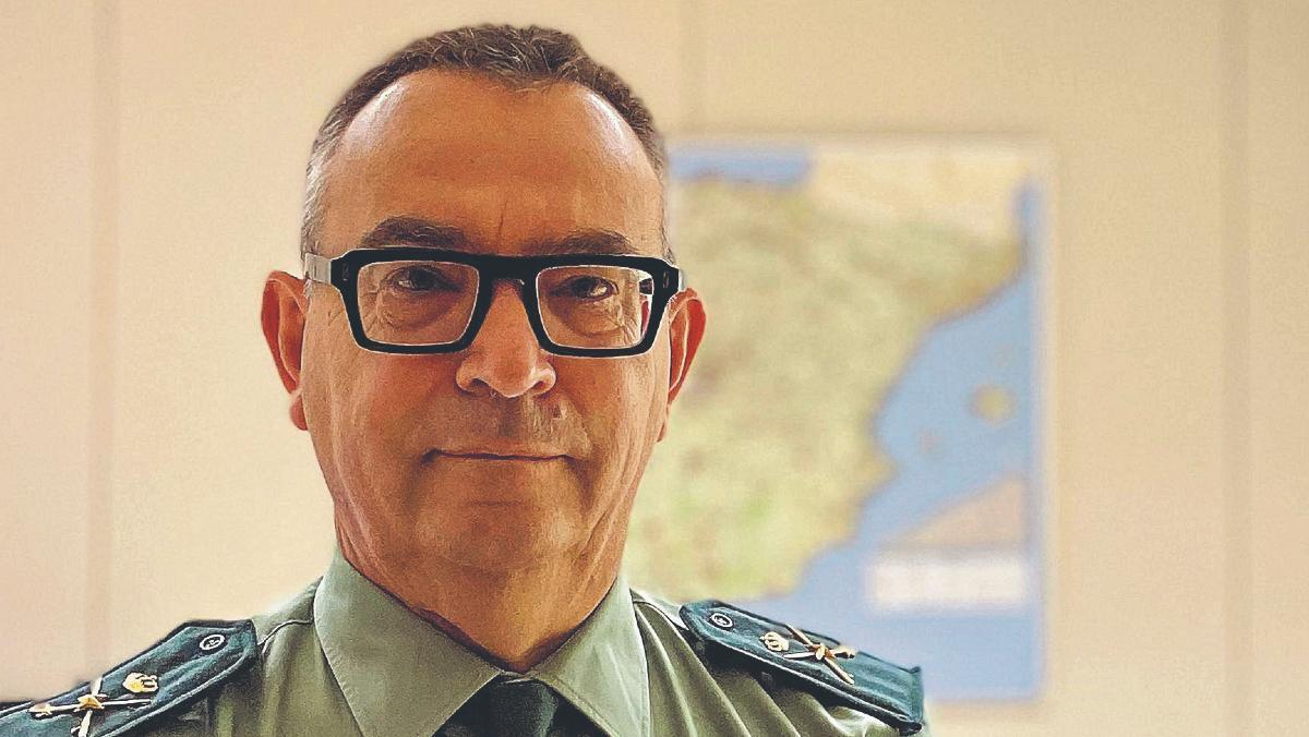 José Luis Tovar, jefe de la Guardia Civil en Catalunya