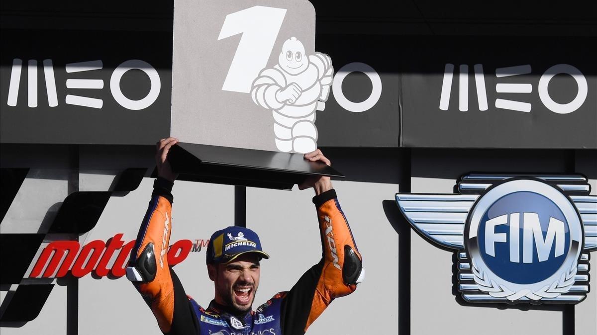 Miguel Oliveira (KTM) gana el primer GP de Portugal de MotoGP.