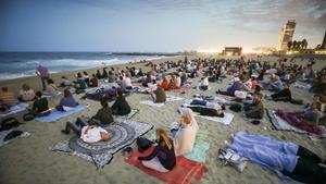 La meditació guiada més gran d'Europa