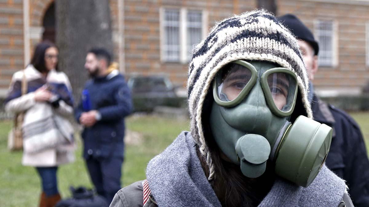 Sarajevo, asfixiada por la contaminación