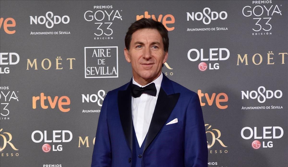 Antonio de la Torre, en la noche de los premios Goya 2019.