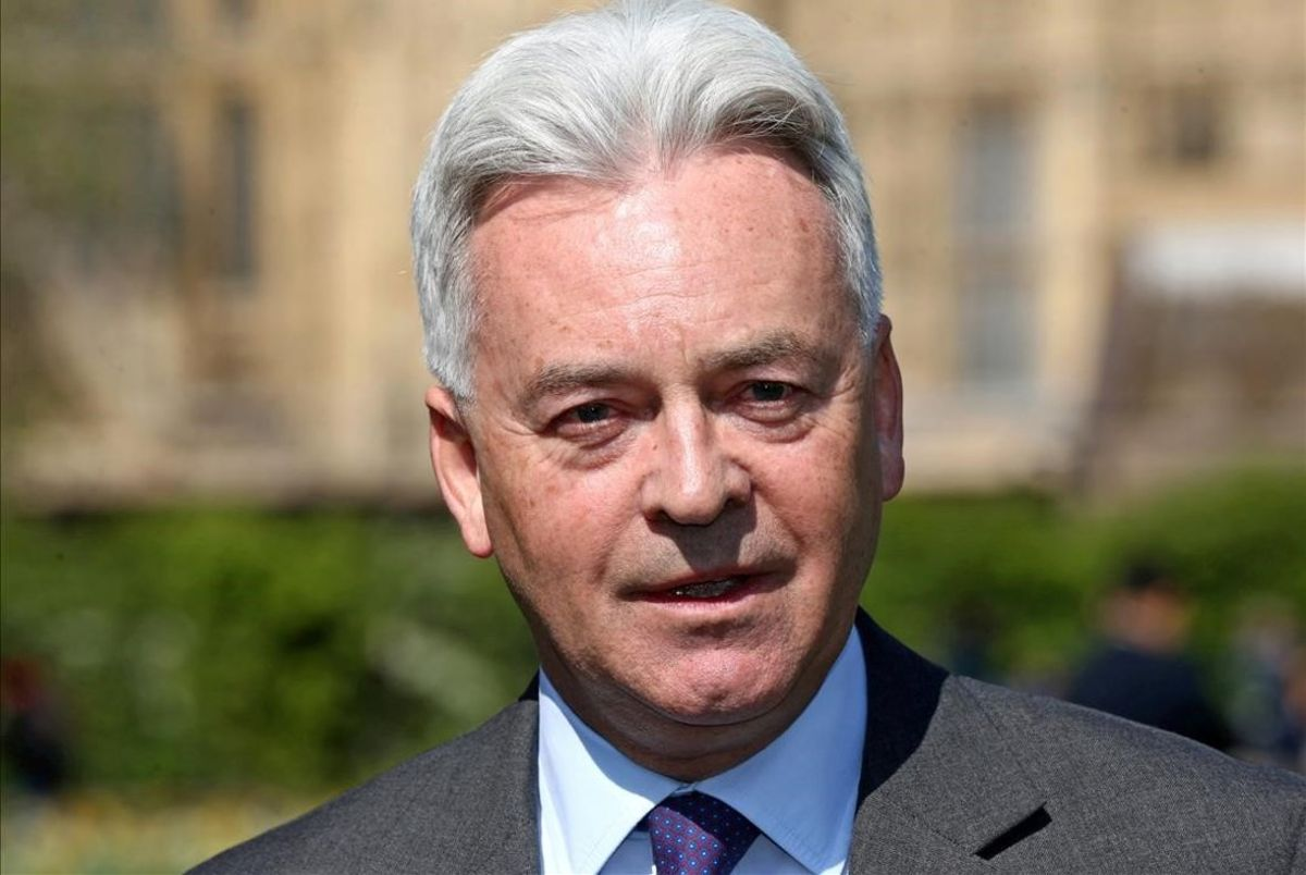 El número dos del ministerio de Exteriores británico, Alan Duncan.