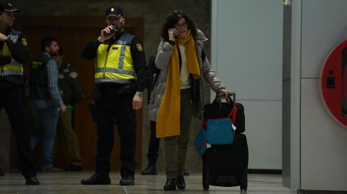 Así hemos contado el aterrizaje del avión de Air Canada en Madrid Barajas