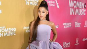 Ariana Grande, en una gala en el 2018.