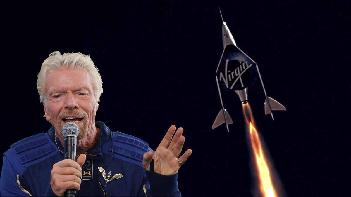 Richard Branson se convierte en el primer magnate en saltar al espacio.