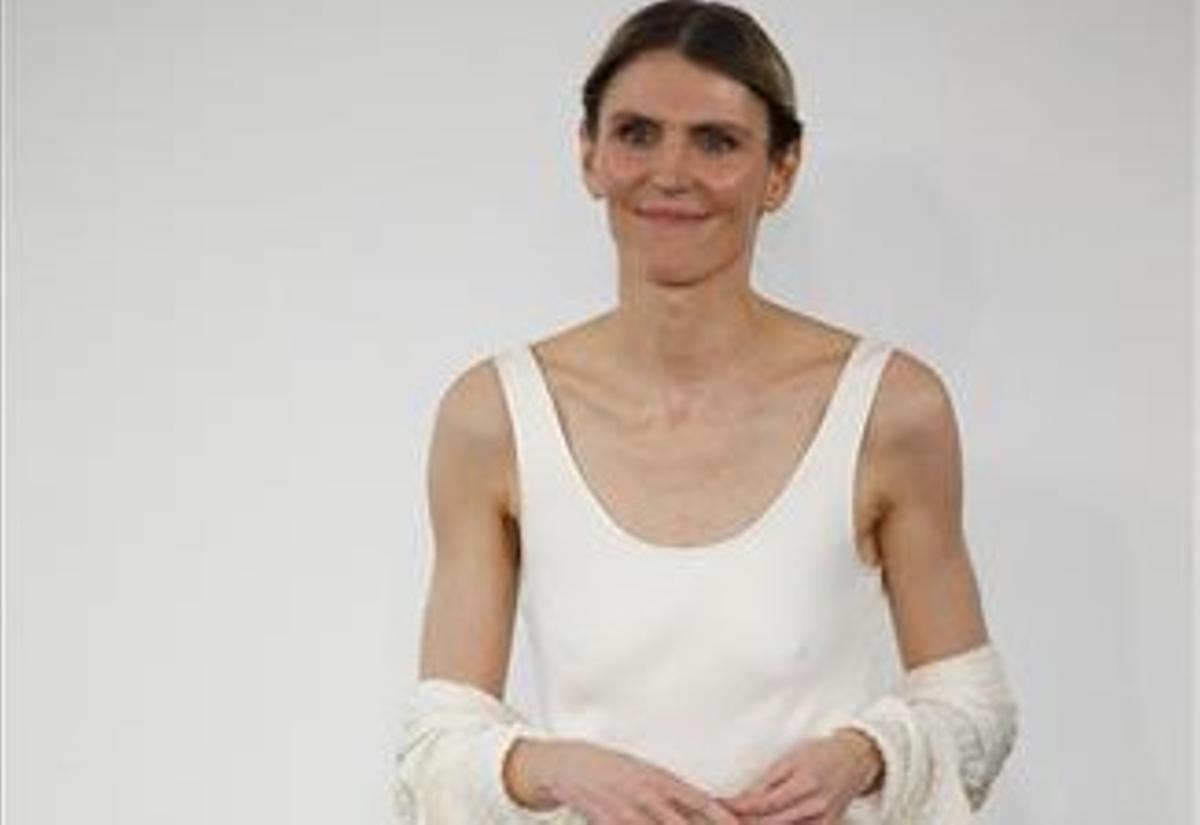 Gabriela Hearst, en la semana de la moda de Nueva York, en septiembre de 2019.