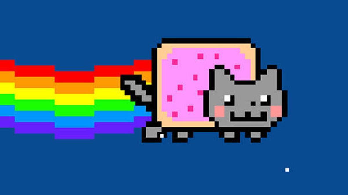 El famoso meme Nyan Cat, vendido con NFT por 580.000 dólares