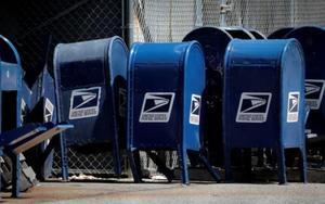 Retiro de buzones delServicio Postal de los EEUU.
