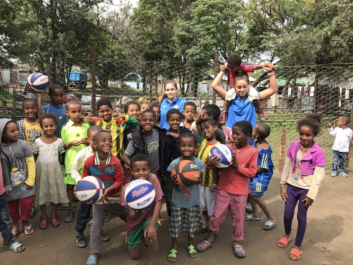 La expedición de Gavà estuvo en Etiopía las dos primeras semanas de julio inaugurando la escuela.