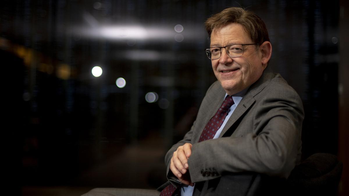 El presidente de la Generalitat Valenciana, Ximo Puig, en la redacción de EL PERIÓDICO.
