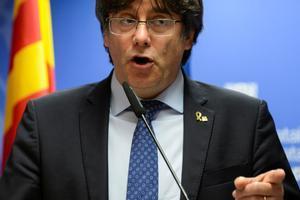 Puigdemont valora la sentencia de Junqueras.
