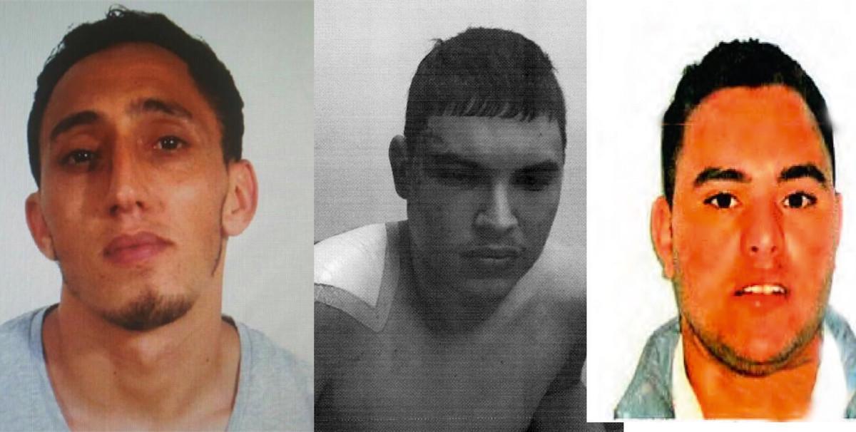 Els tres terroristes capturats del 17-A esperen judici a Morón, Picassent i Albocàsser