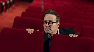 Badalona  03.06.2021 Icult. El humorista Joaquin Reyes fotografiado en el Teatro Borras. Foto Laura Guerrero