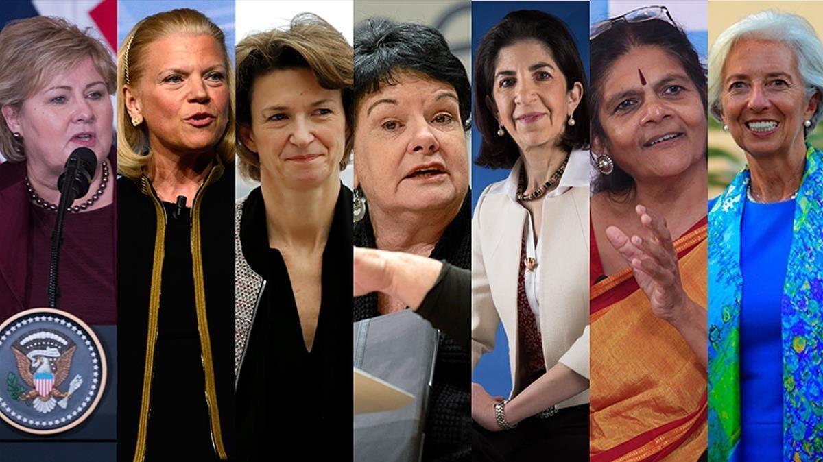 Las 7 'magníficas' de Davos