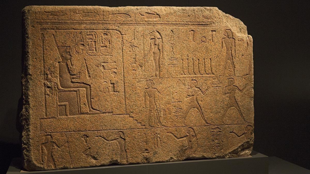 Una de las piezas de la muestra 'Faraón', en CaixaForum.