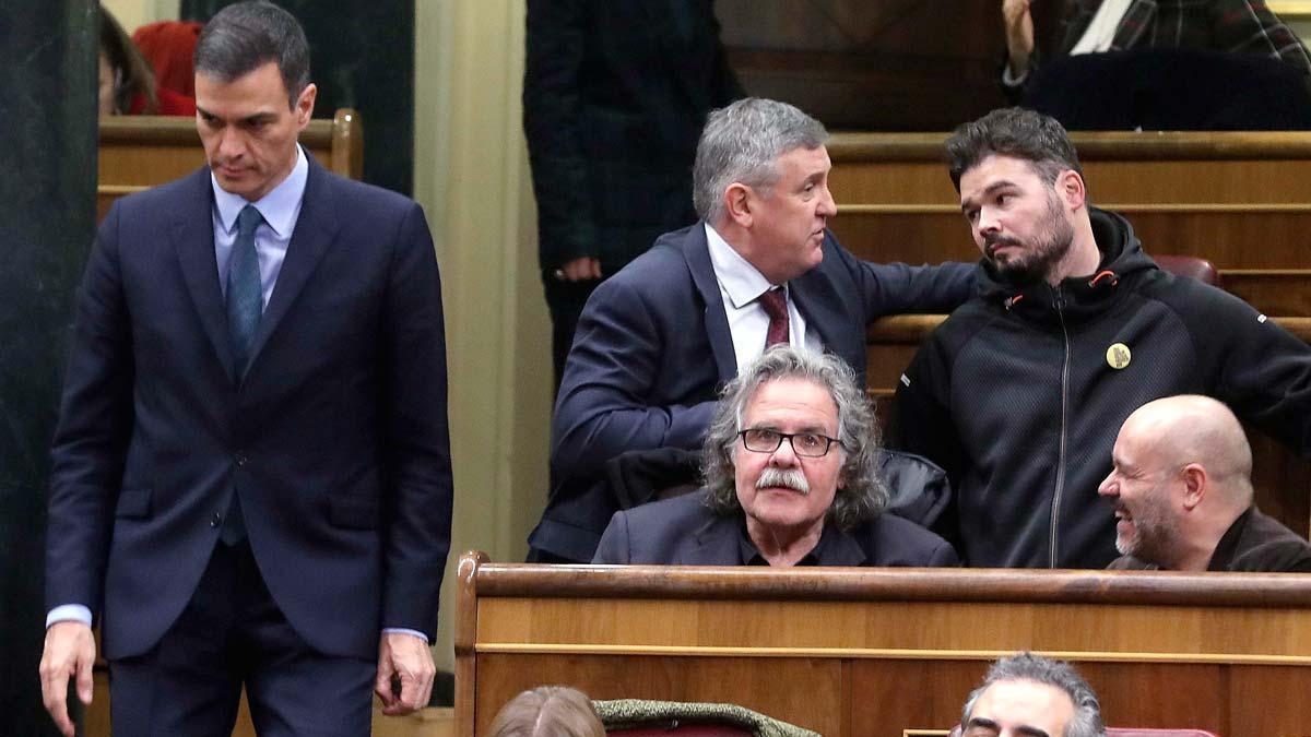Los Presupuestos Generales del Estado de 2019 han sido rechazados en el Congreso con los votos de ERC y PDeCAt, que se han sumado a los del PP, Ciudadanos, Foro Asturias y Coalición Canaria, lo que abre la puerta a un adelanto electoral.