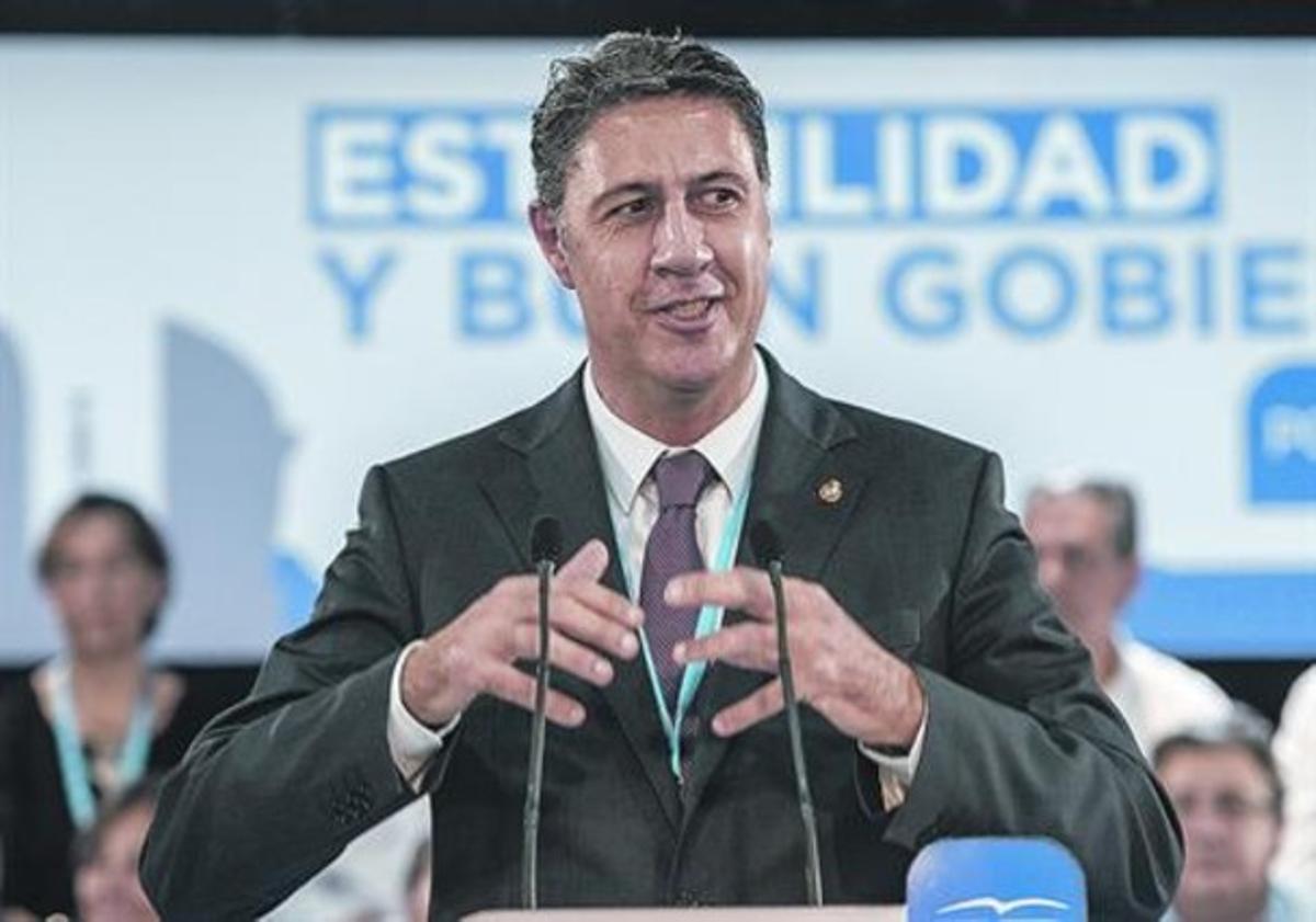 Xavier García Albiol, en unas jornadas organizadas por su partido, el pasado noviembre.