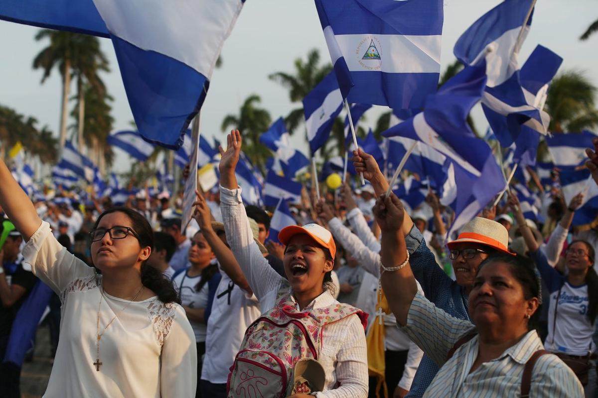 Continúan las protestas en Nicaragua