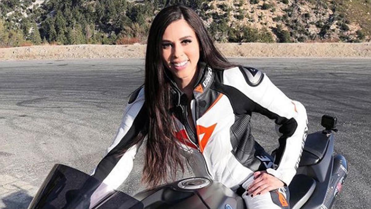 Mor Annette Carrion, la 'motard' d'Instagram, en un accident per excés de velocitat