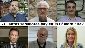 Miquel Calçada (CDC), Carles Martí (PSC), Núria Carreras (PPC), Óscar Guardingo (En Común Podem), Santiago Vidal (ERC) y Xavier Alegre (Ciudadanos), responden: ¿Cuántos Senadores hay en la Cámara Alta?