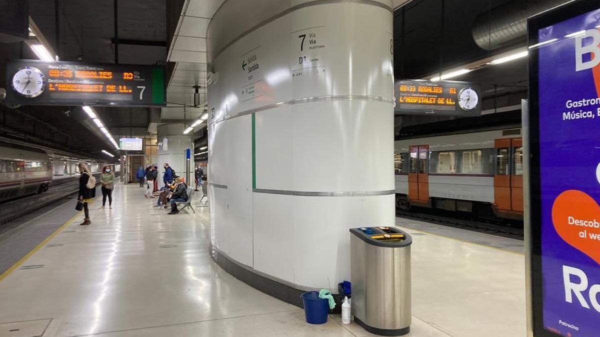 Finalización de las obras del nuevo esquema de vías de la estación de Barcelona-Sants