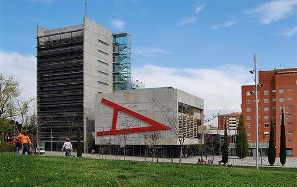 Fachada del Ayuntamiento de Mollet del Vallès.