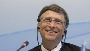 Roda de premsa de Bill Gates al CosmoCaixa.