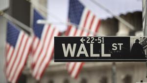 Wall Street, el distrito financiero de Nueva York.