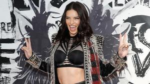 Adriana Lima, en un acto promocional de Victoria's Secret en Nueva York, el pasado 28 de noviembre.