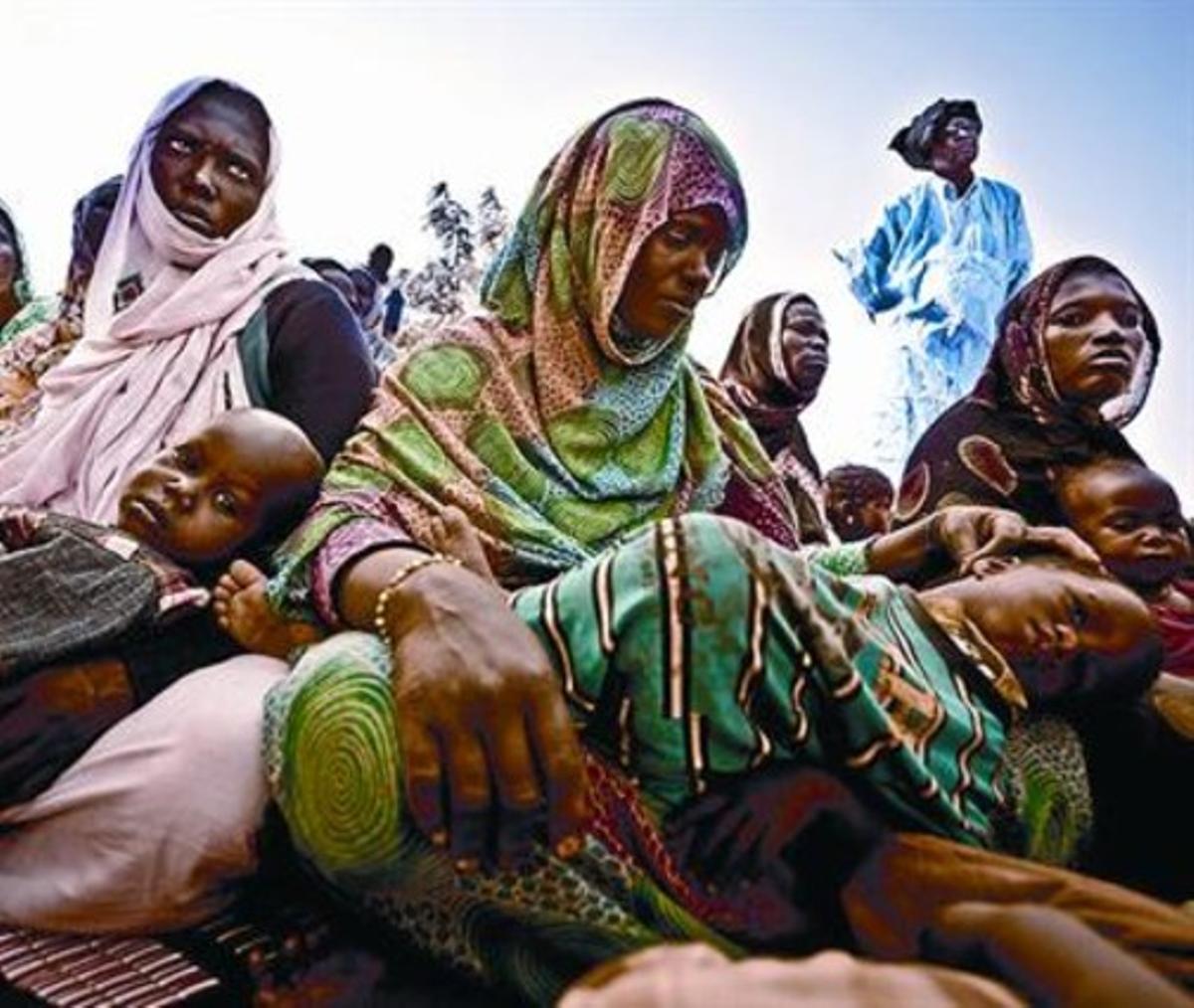La comunidad de Natriguel, en Mauritania, en riesgo de sufrir inseguridad alimentaria.