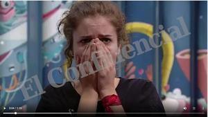 La angustia de Carlota en 'GH', Tele 5