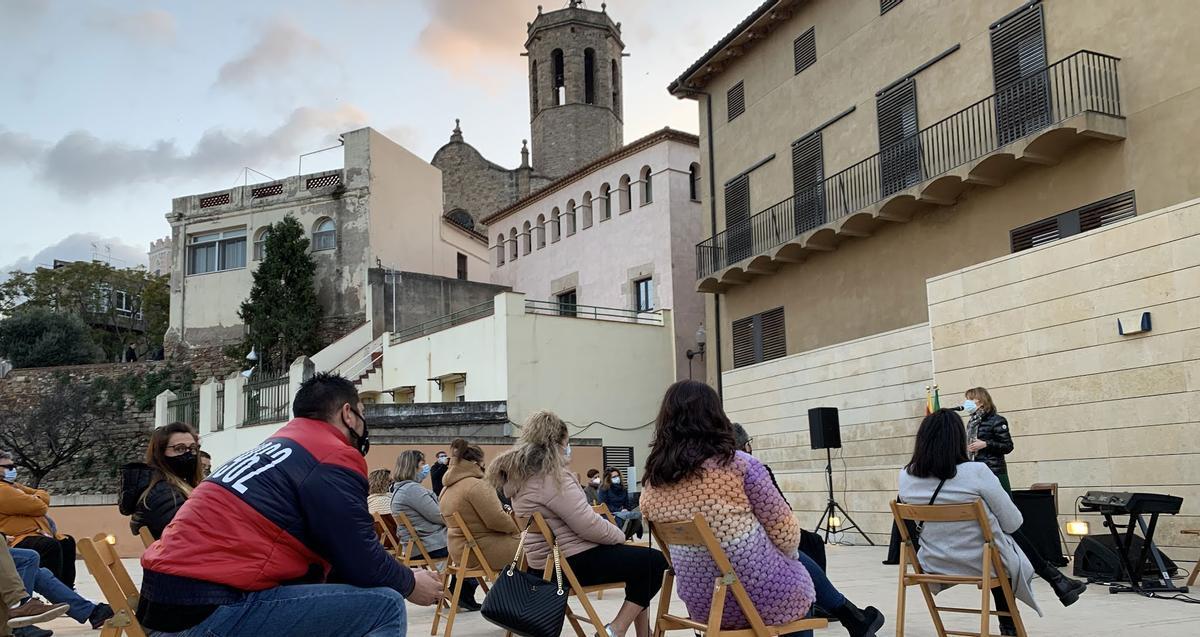 Celebración del Día de Andalucía 2021 en Sant Boi afectada por la pandemia