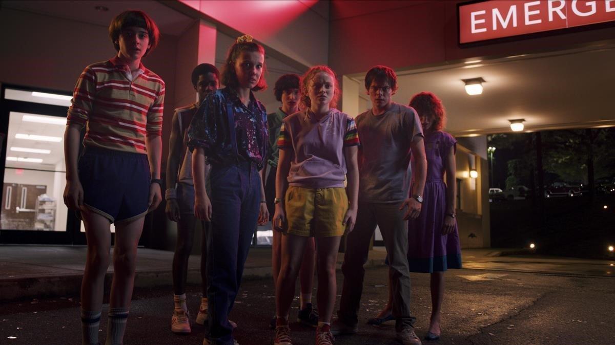 Una imagen de 'Stranger things 3'.