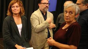 Elisenda Alamany y Joan Josep Nuet en la Casa Golferichs.