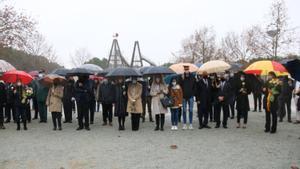 Sabadell recorda els sis agents de la Policia Nacional assassinats en un atemptat d'ETA fa 30 anys amb un acte solemne
