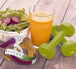 HÁBITOS SALUDABLES.Frutas, verduras y ejercicio para recuperarse de los excesos navideños.