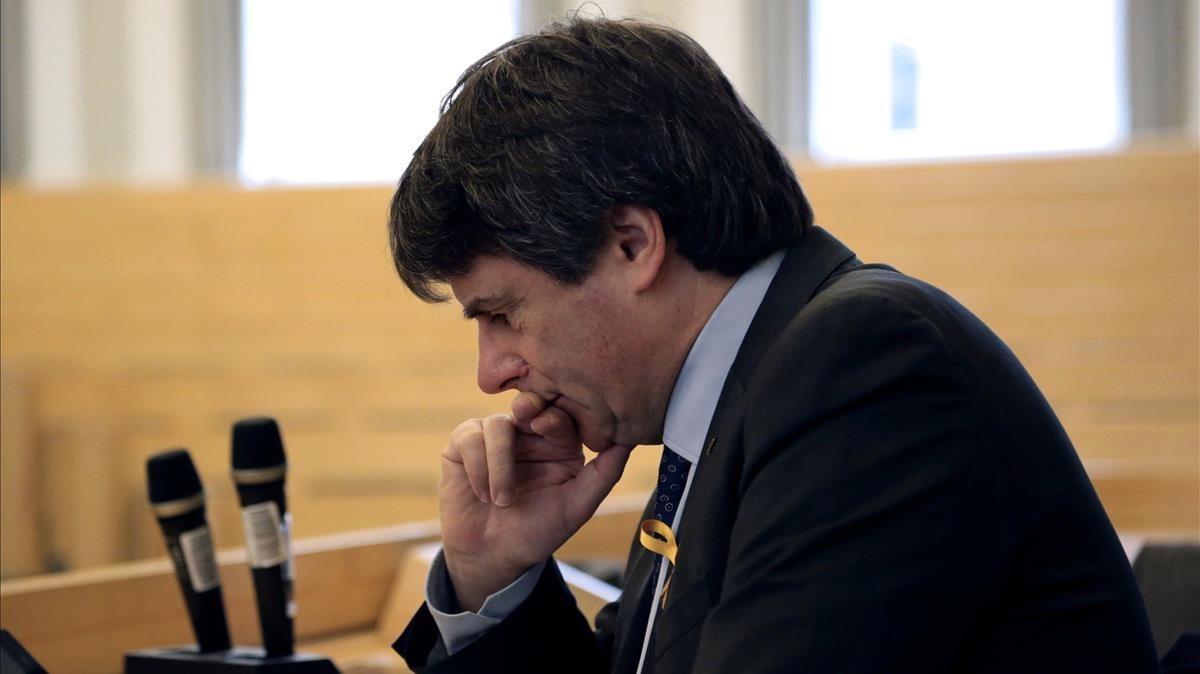Carles Puigdemont, en una imagen del 23 de marzo.