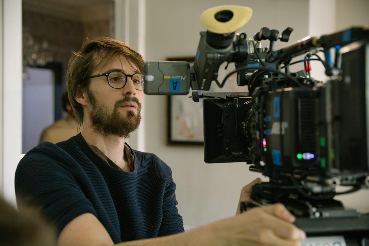 Dani de la Orden, durante el rodaje de la película.