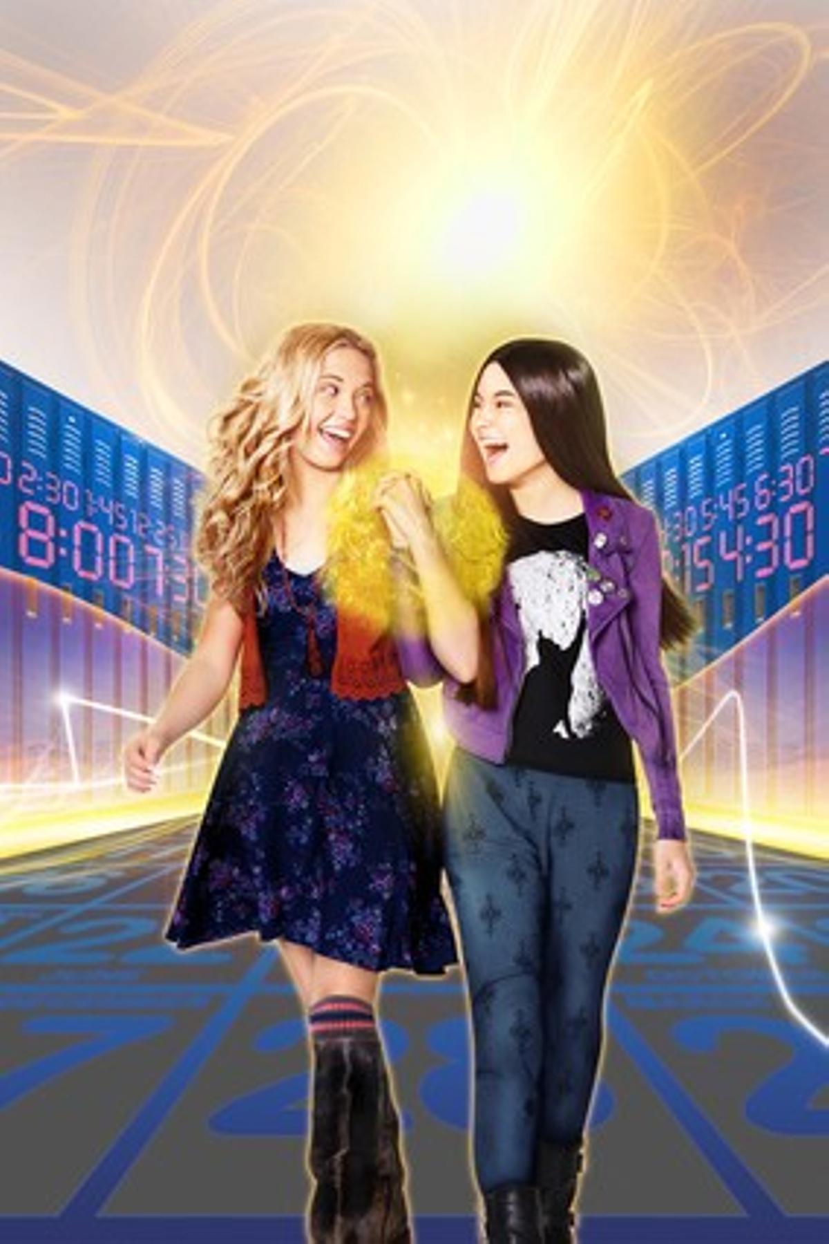 Imagen de la serie de Disney Channel 'Amigas a destiempo'.