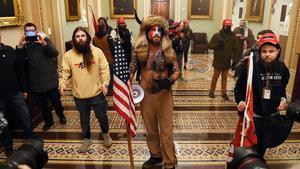 Manifestantes pro Trump en Washington