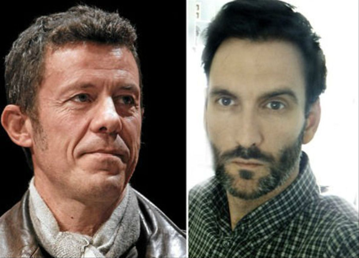 Javier Espinosa (izquierda), reportero de 'El Mundo', y el fotógrafo 'freelance' Ricardo García Vilanova.