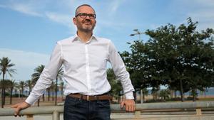 Josep Costa, el pasado viernes, tras la entrevista.