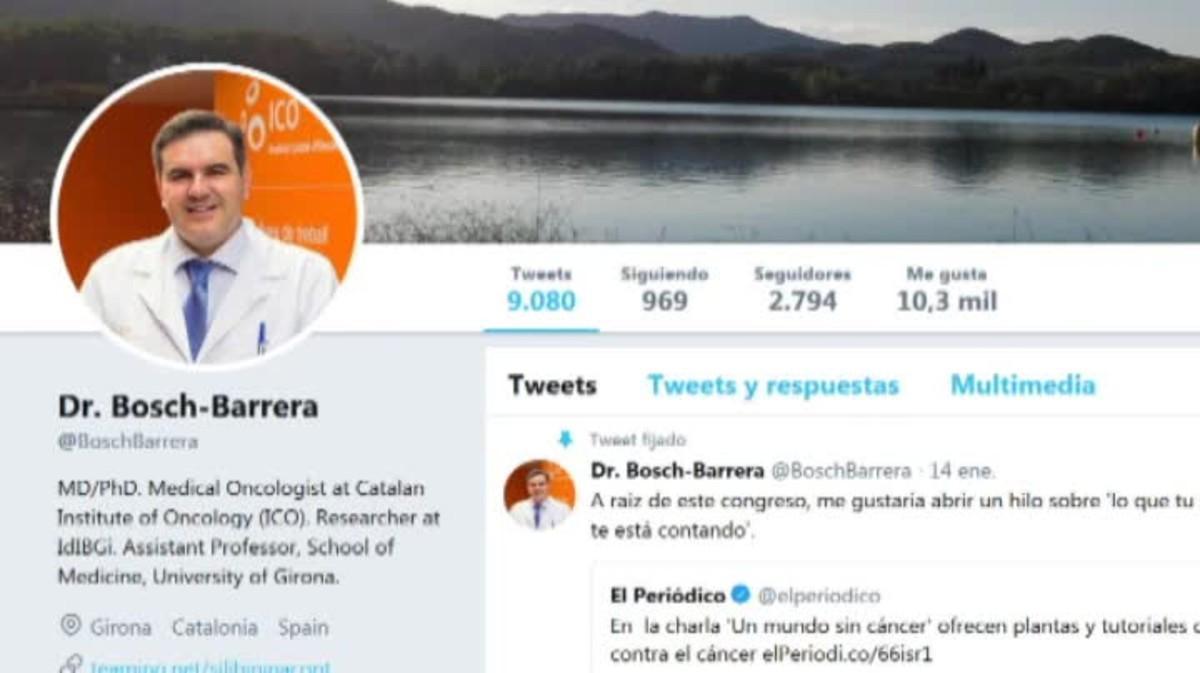 Un oncólogo muestra en twitter el fatal error al tratar un cáncer con medicina alternativa